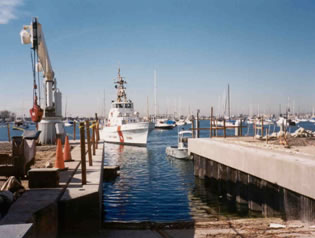 Newport Harbor Patrol Headquarters Bulkhead Replacement