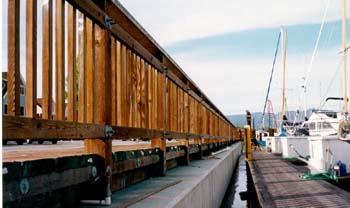 Sausalito Yacht Harbor Bulkhead Replacement