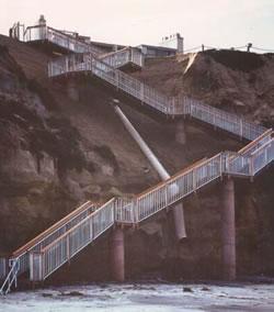 Seascape Sur Beach Access Stairway
