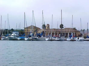 Marina Expansion, Naval Training Center