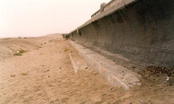 Seawall Protection Structure, Great Highway