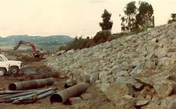 San Luis Rey River Revetment