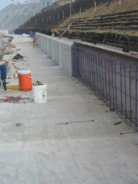 Dana Headlands Pedestrian Walkway, Retaining Wall & Stairway