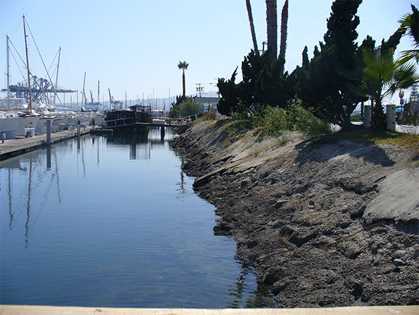 East Basin Cerritos Channel Marina Shoreline Repairs