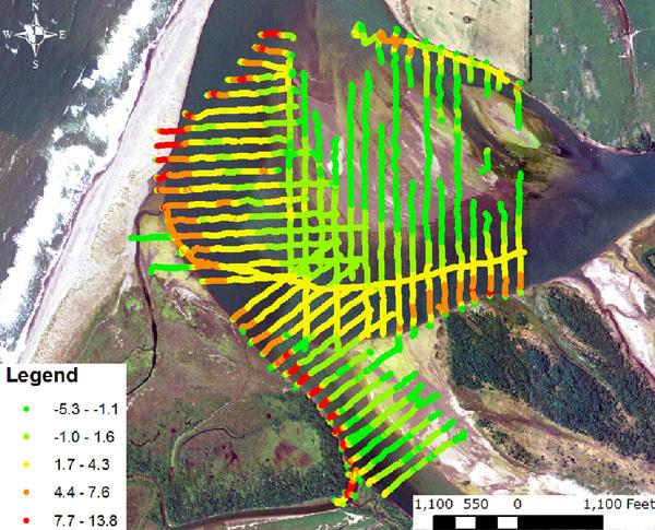 Eel River Bathymetric Survey