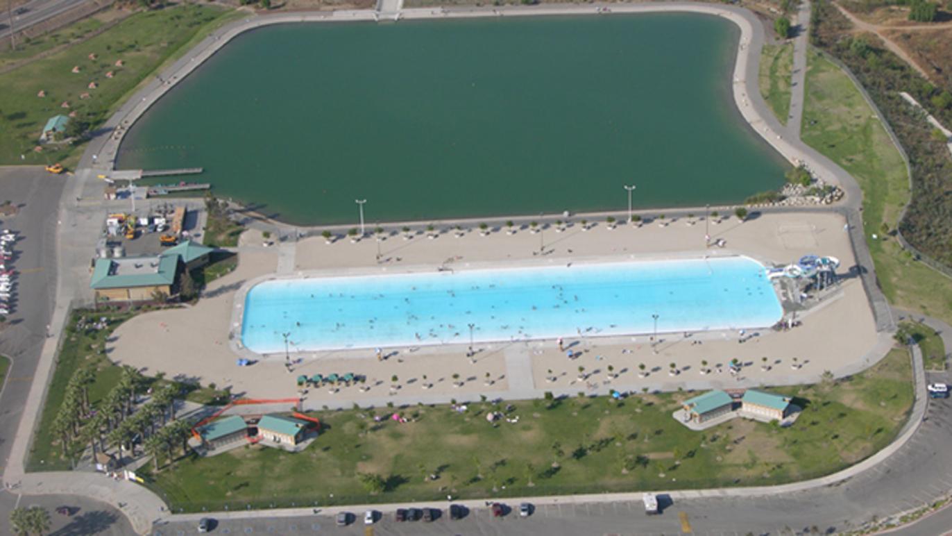 Hansen Dam 15-Acre Recreational Lake
