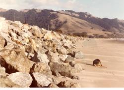 Seadrift Revetment Shoreline Protection, Original Construction & Subsequent Repairs